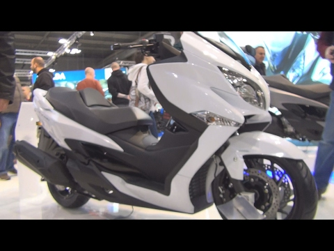 @SuzukiCycles Burgman 400 ABS White (2017) Exterior and Interior in 3D