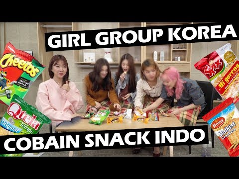 GIRL GROUP IDOL KOREA COBAIN SNACK INDO ft. MOMOLAND