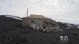 Shackleton's Antarctic expedition huts restored