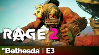 Rage 2 Full Reveal & Gameplay Presentation | Bethesda E3 2018