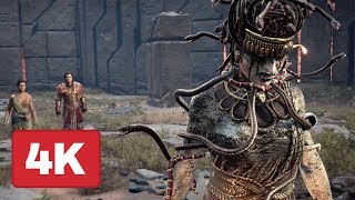 Taking Down Medusa in Brand New Assassin's Creed: Odyssey Gameplay (4K)