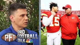 Chiefs' Andy Reid on when he knew Patrick Mahomes was special  | Pro Football Talk | NBC Sports