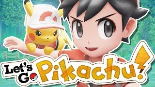 I Played Pokemon Let's Go Pikachu & Eevee EARLY!!