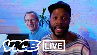 Spike Jonze and Fat Tony Freestyle for a Music Video | VICE LIVE
