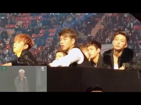 IKON & Red Velvet reaction to Bigbang [MMA] 2015 Fancams Part 1