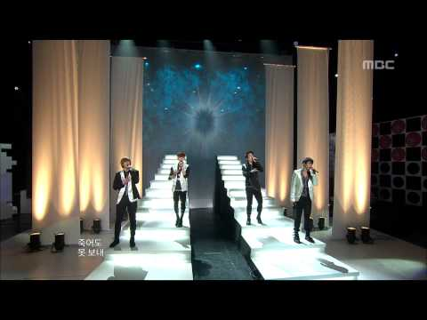 2AM - Can't Let You Go Even If I Die, 투에이엠 - 죽어도 못 보내, Music Core 20100227