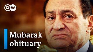 Former Egyptian President Hosni Mubarak dead at 91 | DW News