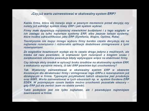 Skalowalne vs pudełkowe systemy ERP - część 4
