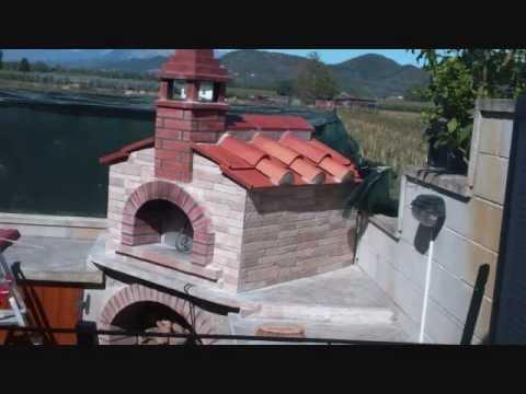 Il fai da te costruire un forno a legna cucinare pizza - Cucinare con il forno a legna ...