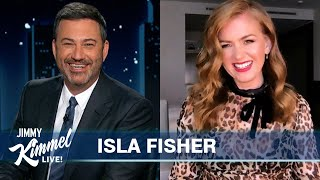 Isla Fisher on Being Married to Borat, the Holidays & New Movie Godmothered