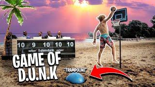 INSANE (Game Of D.U.N.K) At The Beach!
