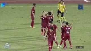 Highlights | U18 Việt Nam - U18 Malaysia | Sống còn những phút cuối | BLV Quang Huy