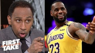 Stephen A. BELIEVE that Lakers' LeBron is the MVP in all of sports, Not Patrick Mahomes