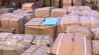 £6m fake clothing raid footage