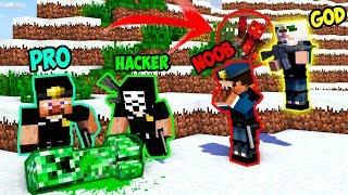 Minecraft NOOB vs PRO vs HACKER vs GOD: CREEPER FALL INSPECTION in Minecraft | Animation