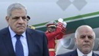 أخبار مصر: مؤتمر صحفي لرئيس الوزراء إبراهيم محلب مع نظيره العراقي حيدر العبادي