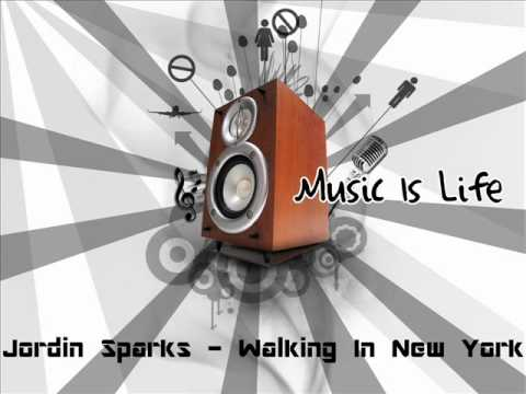 Jordin Sparks - Walking In New York