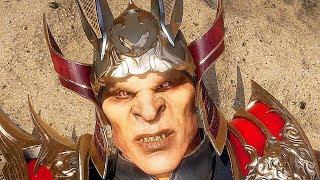 Mortal Kombat 11 Shao Kahn Vs. Kotal Kahn All Fight Cutscenes (MK11)