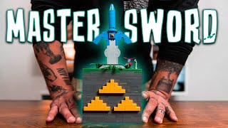 Solving The ZELDA Master Sword Puzzle!! (Lego Puzzle Box)