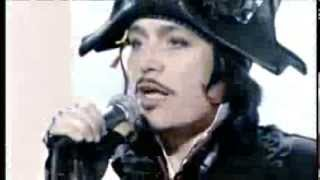 Adam Ant performs Antmusic on ITV1 show This Morning