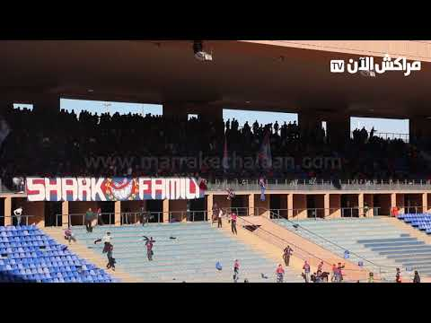فيديو خطير.. جماهير اولمبيك اسفي تخرب ملعب مراكش الكبير