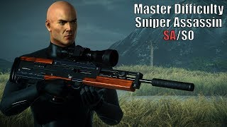 HITMAN™ 2 Master Difficulty Nightcall - Sniper Assassin From Distance (Silent Assassin/Suit Only)
