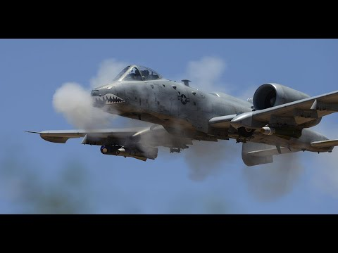 screenshot of youtube video titled Tankbusters, Part 2: Flying the A-10 Thunderbolt II