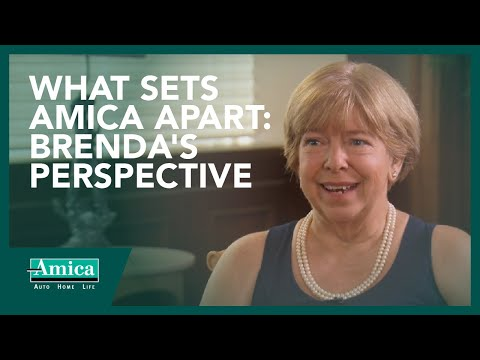 What sets Amica apart: Brenda's perspective
