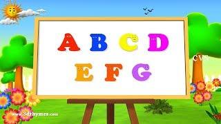 ABC Song | ABCD Alphabet Songs | ABC Songs for Children - 3D ABC Nursery Rhymes - YouTube