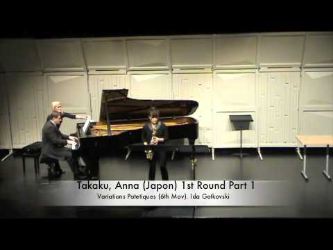 Takaku, Anna Japon 1st Round Part 1