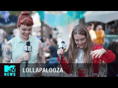 Maggie Rogers Talks Creating Music & More at Lollapalooza 2017 | MTV News