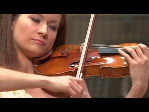 Arabella Steinbacher - Beethoven Violin Concerto (24.10.2007)