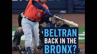 Report: Carlos Beltran to interview for Yankees manager role