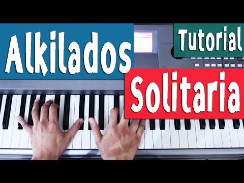 Piano Tutorial [Acordes] - Alkilados - Solitaria - By Juan Diego Arenas