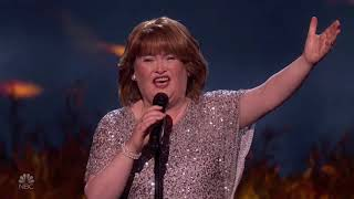 Susan Boyle: Special Perfomance With Flashbacks From BGT! | America's Got Talent 2019