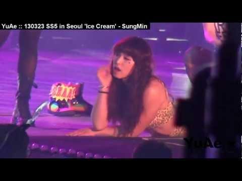 YuAe : 130323 SS5 in Seoul 'Ice Cream' - SungMin