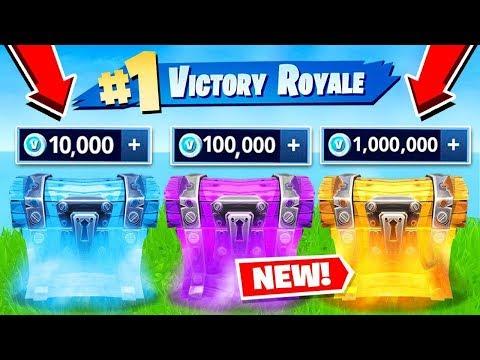*NEW* V BUCKS WAR Gamemode in Fortnite Battle Royale!