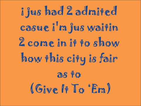 Akon feat. Rick Ross - Give It To Em Lyrics
