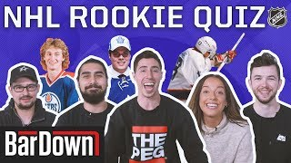 CAN YOU PASS THIS NHL ROOKIE QUIZ?