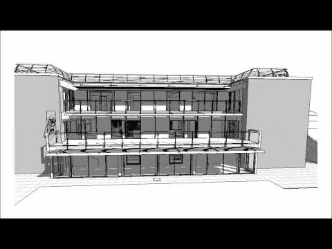 Autodesk Revit - BIM Building Information Modeling - Live Project mebdesign.co.uk