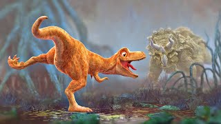 Dinosaur Animation - Cartoon for Children - PANGEA Movie Trailer