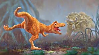 Dinosaur Cartoon for Kids - Pangea Demo - Animation Film