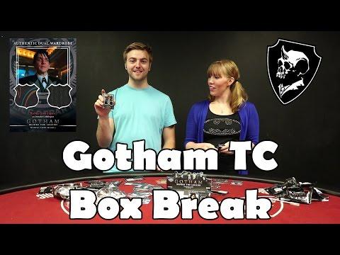 Gotham Trading Cards Box Break