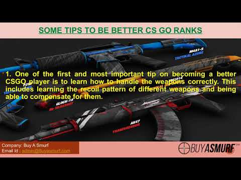 Better gaming skills to get desirable rank in CSGO Accounts