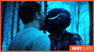 Eddie Brock and She Venom - Kiss Scene | VENOM (2018) Movie CLIP 4K