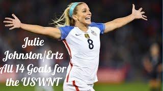 Julie Johnston/Ertz ● All 14 Goals for the USWNT ● 2015/2017