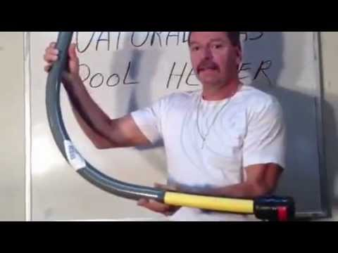 Gas Line To Pool Heater Part 2 Loudepot Youtube