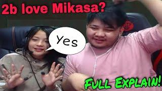 2b Gamer Love Nxt Mikasa ?? [Full Explain]