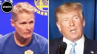Steve Kerr Calls Out Trump On Iran Attack