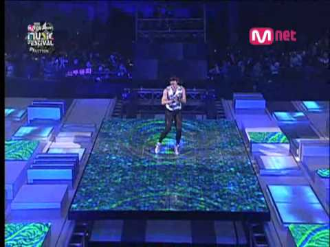 2008 Mnet KM Music Awards - Rain performance